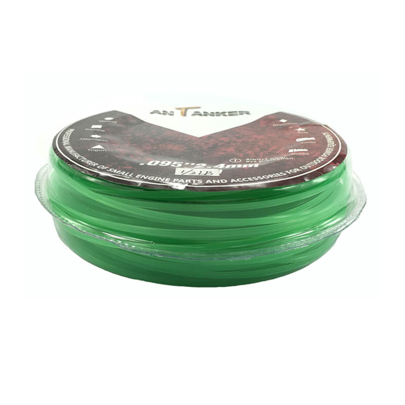1/2lb 2.4mm Trimmer Line (Square, green)